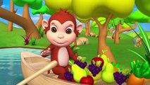 Singe Nourrir des Fruits de l'Étable des Animaux avec promenade en Bateau dans la Rivière - Zoo et les Animaux de la Forêt pour les Enfants | Peony Noakes