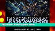 Fundamentals of International Aviation (Aviation Fundamentals)