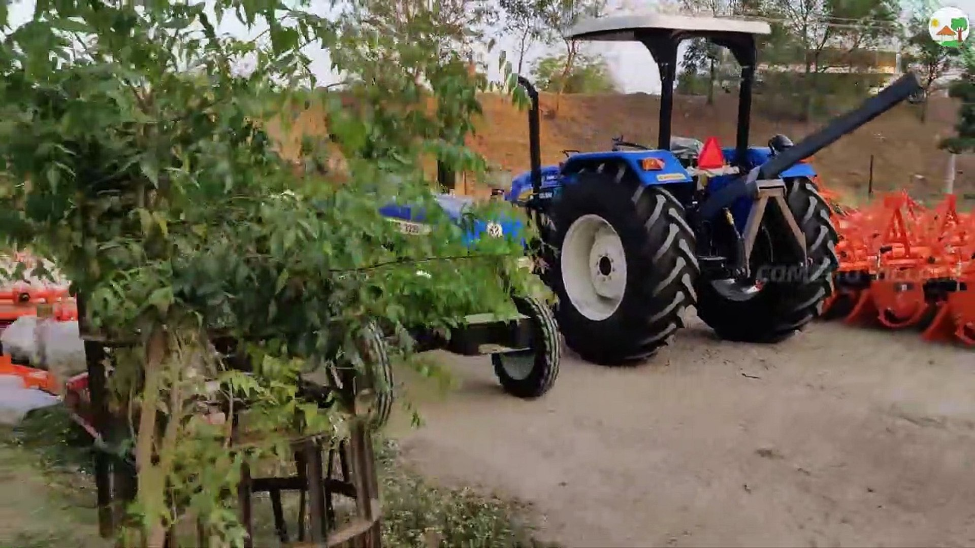 Daily Routine work in Tractor Showroom | New Holland Tractor Dealer - Come To Village |