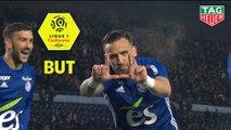 But Anthony GONCALVES (46ème) / RC Strasbourg Alsace - Stade de Reims - (4-0) - (RCSA-REIMS) / 2018-19