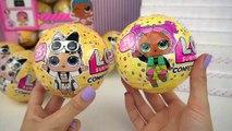 LOL Surprise Confetti Pop Wave 2 & Full Case of Lil Sisters Series 3 -  Lil Punk Boi & Unicorn   Boomerang