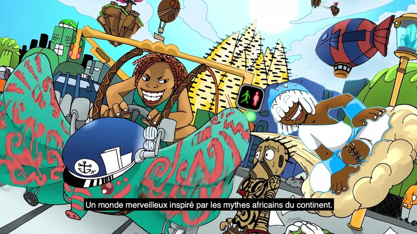 LITTLE LITTLE ORISHAS by Archange Kiyindou (The Congo Republic) - ANIMATION