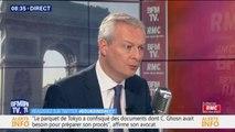 """""""Carlos Ghosn est un justiciable comme les autres."""": Bruno Le Maire a demandé la """"transparence totale"""" dans l'enquête sur l'ancien PDG de Renault-Nissan"""