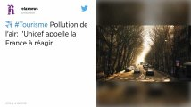 Pollution de l'air. Trois enfants sur quatre respirent un air toxique en France, alerte l'Unicef