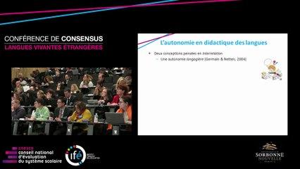 M. CIEKANSKI - Comment l'enseignant peut-il guider les élèves vers l'autonomie ?