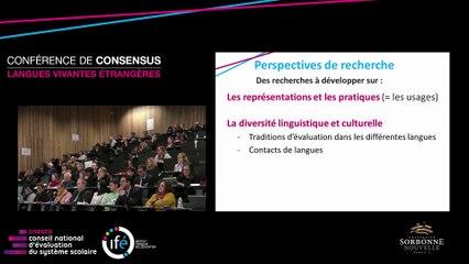 E. HUVER - L'évaluation en langue vivante étrangère