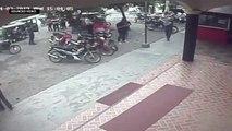 CCTV outside captures explosion in Isulan, Sultan Kudarat