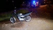 Homem sofre queda de moto no Bairro Interlagos