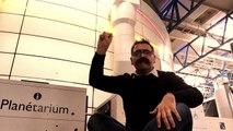 """Spectacle d'un film """"Entre ciel et Terre.. les lumières de la nuit"""" traduit en LSF ou sous-titré - Planétarium - Cité des sciences et de l'industrie"""