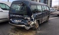 TEM'de zincirleme kaza: Trafik durma noktasına geldi