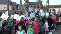 Saint Symphorien : Les enfants ont marché pour le climat.Video 2 Eric Ghislain