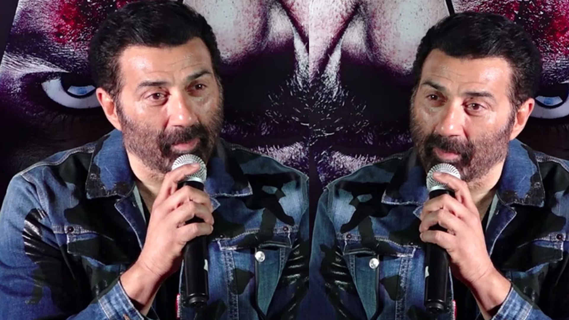 Sunny Deol talks on real action at Blank Trailer Launch;Watch video | FilmiBeat