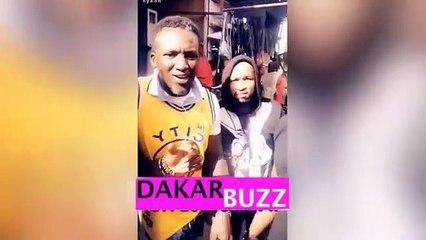 Assane Diouf À Sandaga avec Sankara Mbaye Le message d'Assane Diouf À Donald Trump