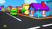 Wheels On The Bus - Baby Bao Panda Cartoons - Preschool Nursery Rhymes - Kids TV
