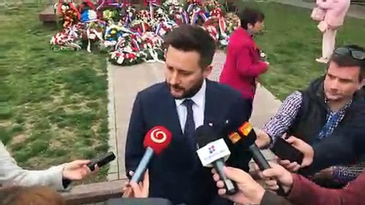 ZÁZNAM: Primátor M. Vallo po pietnej spomienke pri príležitosti oslobodenia Bratislavy