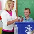 Enseñar a los niños a reciclar y reutilizar