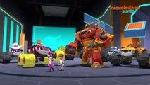 Blaze et les Monster Machines | Bande de Robots | NICKELODEON JUNIOR