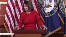 Nancy Pelosi Declines To Answer Question About Mueller Testifying Before Congress