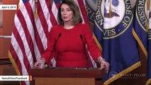 Nancy Pelosi Weighs In On Reported 'Mischaracterization' Of  Mueller Report