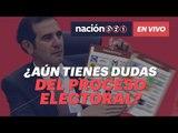 ¿Aún tienes dudas del proceso electoral? No te pierdas #Nación321EnVivo con Lorenzo Córdova