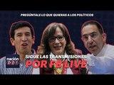 Sigue nuestras transmisiones por Facebook Live y pregúntale lo que quieras a los políticos mexicanos