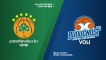 Panathinaikos OPAP Athens - Buducnost VOLI Podgorica Highlights | Turkish Airlines EuroLeague RS Round 30