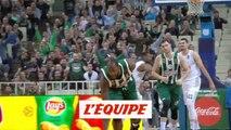 Le Panathinaïkos écrase Podgorica - Basket - Euroligue