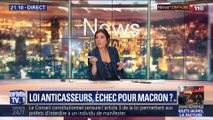 Loi anticasseurs: Échec pour Emmanuel Macron ?