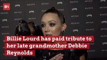 Billie Lourd Shows Love For Late Grandmother Debbie Reynolds