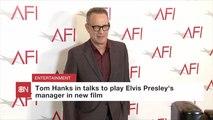 Tom Hanks Might Play Elvis Presley's Famed Manager