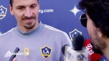 Zlatan Ibrahimovic feels good, ready to take on the turf of Vancouver