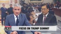 No inter-Korean summit before next week's S. Korea-U.S. summit in Washington: Chung