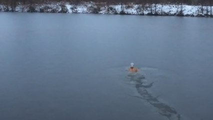 How Real Swimmers Train In The Winter