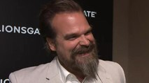 David Harbour Reacts to 'Black Widow' Casting Rumors (Exclusive)