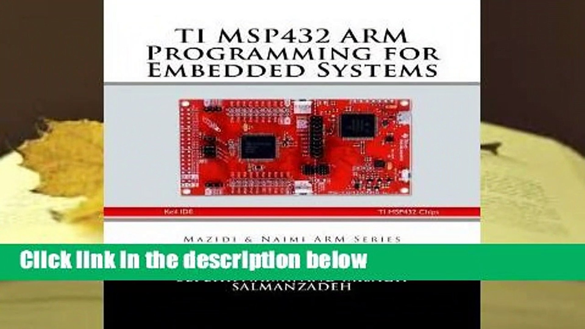 Library Ti Msp432 Arm Programming for Embedded Systems - Muhammad Ali Mazidi