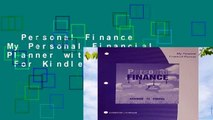 Personal Finance My Personal Financial Planner with Worksheets  For Kindle
