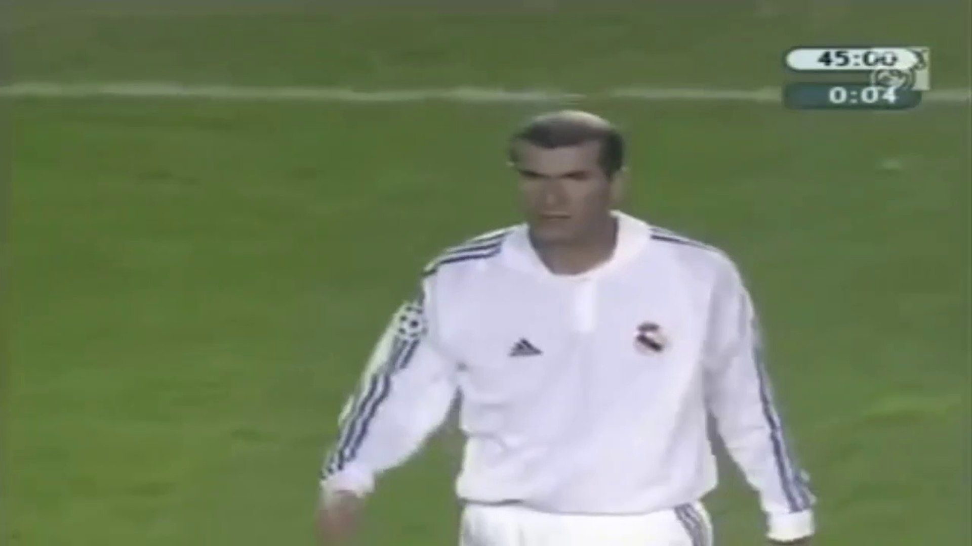 Zinedine Zidane ● Goal and Skills ● Sparta Prague 2:3 Real Madrid ● Champions League 2001-02