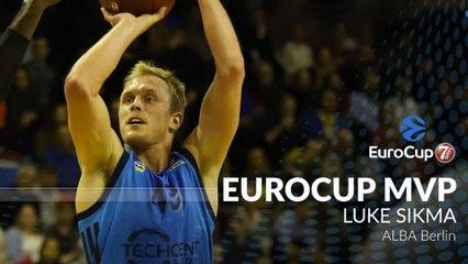 2018-19 7DAYS EuroCup MVP: Luke Sikma, ALBA Berlin