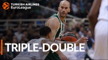 Calathes becomes second Euroleague player ever with triple-double
