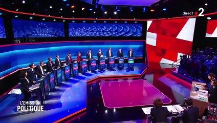 France 2 - Européennes 2019 : Nicolas Dupont-Aignan invité du Grand Débat