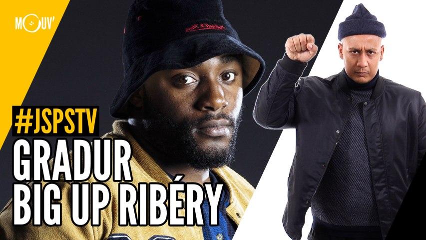 Je sais pas si t'as vu... Gradur big up Ribéry