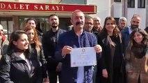 Fatih Mehmet Maçoğlu mazbatasını aldı.
