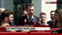 AKP Genel Başkan yardımcısı Ali İhsan Yavuz'dan açıklama