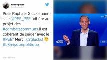 Européennes. Glucksmann n'exclut pas de rejoindre le groupe PSE au Parlement européen