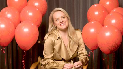 Elisabeth Moss Plays Pop Quiz
