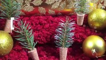 DIY avec Métro_ Petits sapin de Noël
