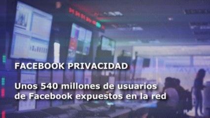 Millones de usuarios de Facebook expuestos y otros clics tecnológicos