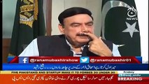 Yesterday I Was Saying To Asad Umar That If I Were There, I Would Not Accept The Government In Such Crisis-Sheikh Rasheed Ahmed