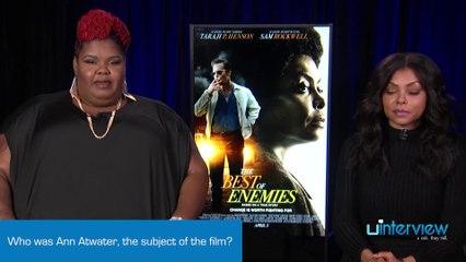 Taraji P. Henson & Ann-Nakia Green On 'The Best Of Enemies,' Ann Atwater