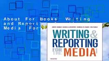 About For Books  Writing and Reporting for the Media  For Kindle